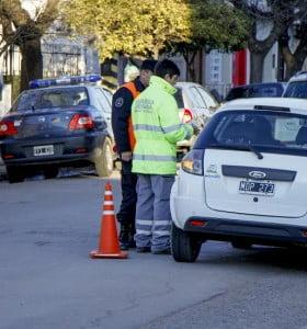Se labraron 780 infracciones de tránsito