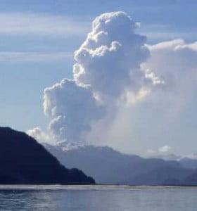 Alerta en la Patagonia por posible erupción del volcán Hudson