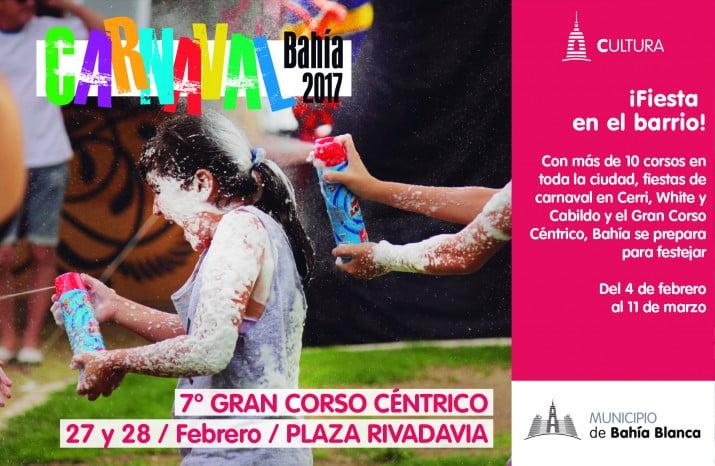 Comienzan los festejos de carnaval Bahía 2017
