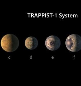 La NASA descubrió siete planetas similares la Tierra