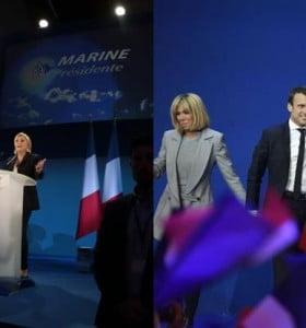 Francia: Macron y Le Pen deberán definir en balotaje