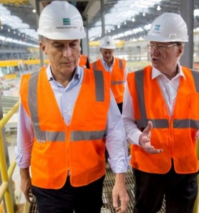 Macri inauguró planta de Tenaris con 600 nuevos empleados pero en EE.UU
