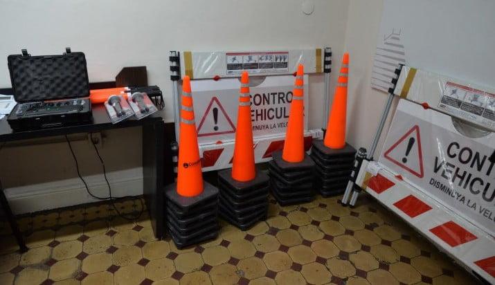 El municipio presentó nuevo equipamiento para optimizar controles de tránsito