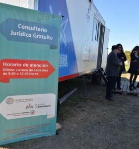 Asesoramiento jurídico gratuito en el destacamento móvil del barrio Cenci