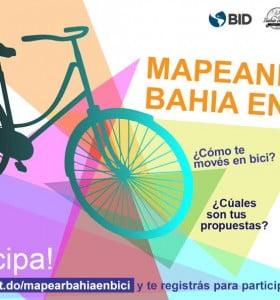 Movilidad urbana: se implementará el programa Mapeando Bahía en Bici
