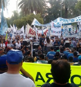 Paro y marcha: En Bahía se dio un ejemplo de unidad