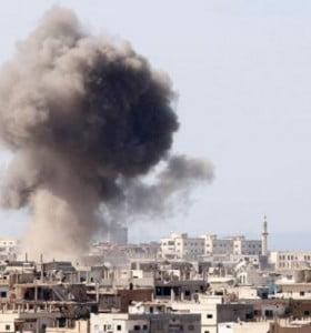 Ataque químico en Siria deja al menos 100 muertos, entre ellos 25 niños