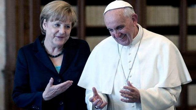El Papa y Merkel, preocupados por la salida de EE.UU. del Acuerdo de París