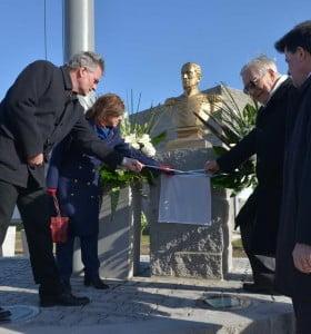 Acto conmemorativo del 240º aniversario del natalicio del Almirante Brown