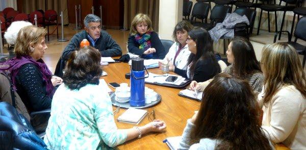 Nuevo encuentro de la Mesa de Salud Mental en el HCD