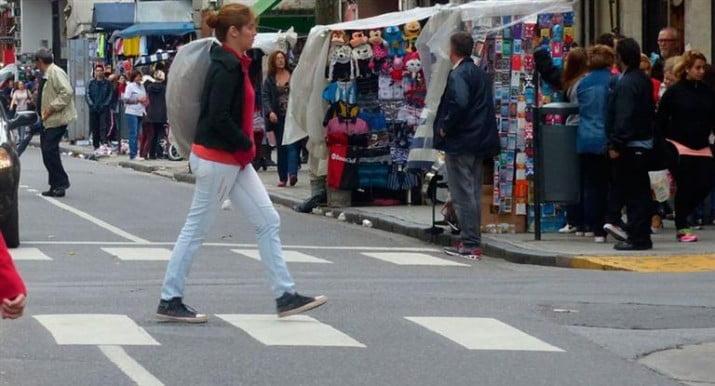 Advierten que hay 86.728 puestos de venta callejera en todo el país