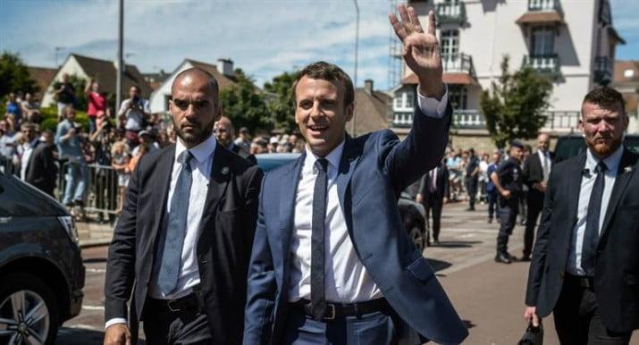 Macron logró una amplia victoria en la primera vuelta de las elecciones legislativas