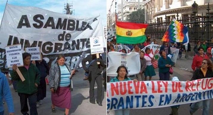 La Argentina es el país con más inmigrantes de Sudamérica
