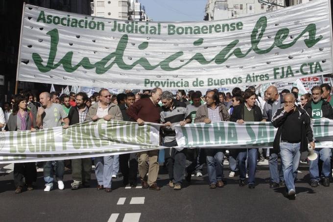 Persiste el reclamo salarial: Judiciales bonaerenses preparan un nuevo paro por 48 horas
