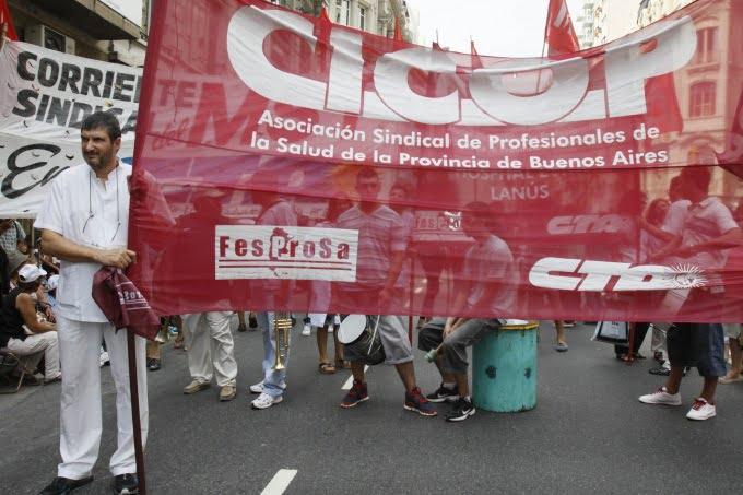 Médicos y profesionales de la salud bonaerenses tampoco cerraron aumento salarial