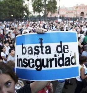 El 74% de los argentinos está preocupado por la inseguridad