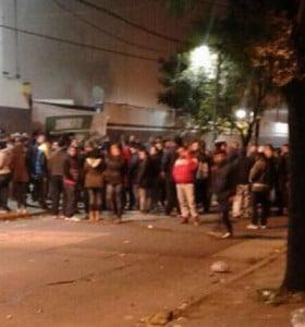 Los 600 despedidos de Pepsico tomaron la planta de Vicente López