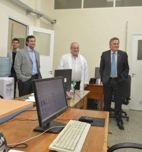 Fueron inauguradas las nuevas instalaciones en la escuela de enfermería del Hospital Municipal