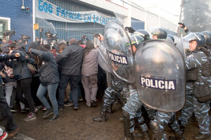 Denuncian el avance de un nuevo protocolo para criminalizar la protesta