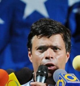 Venezuela: Prisión domiciliaria para Leopoldo López