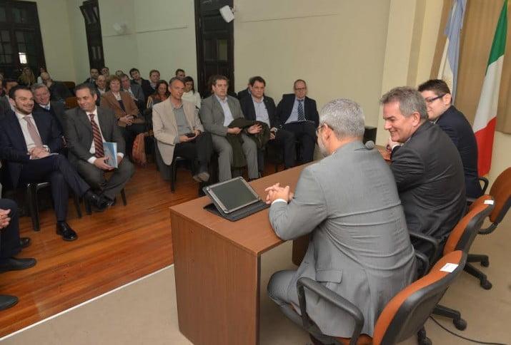 Buscan potenciar las relaciones comerciales entre Bahía Blanca e Italia