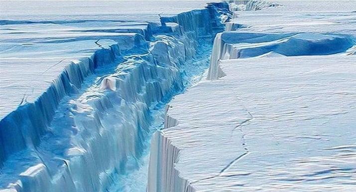 Se desprendió de la Antártida el iceberg 30 veces más grande que Buenos Aires