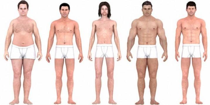 Cómo fueron cambiando los ideales corporales masculinos