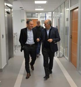 El intendente y el vicegobernador bonaerense encabezaron un encuentro en el puerto