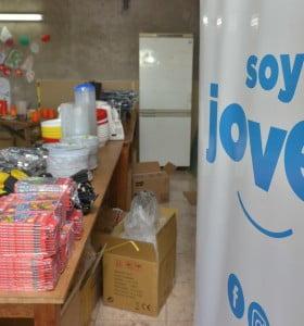 """Se entregaron materiales al comedor comunitario """"Una Ilusión"""""""