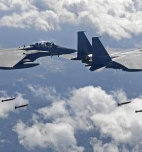 Bombarderos de EEUU simulan un ataque cerca de Corea del Norte