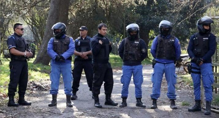 Robaron un arsenal de la Policía Bonaerense: se llevaron miles de balas