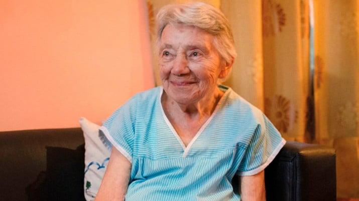 Falleció Ivonne Pierron, la monja francesa que se salvó de la dictadura