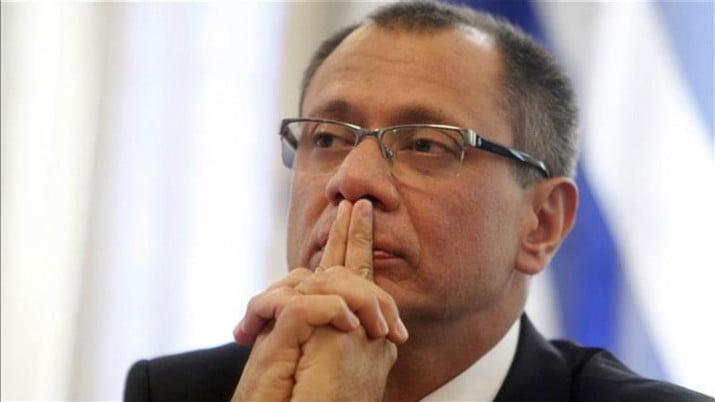 Corte de Ecuador dictó prisión preventiva al vicepresidente por caso Odebrecht