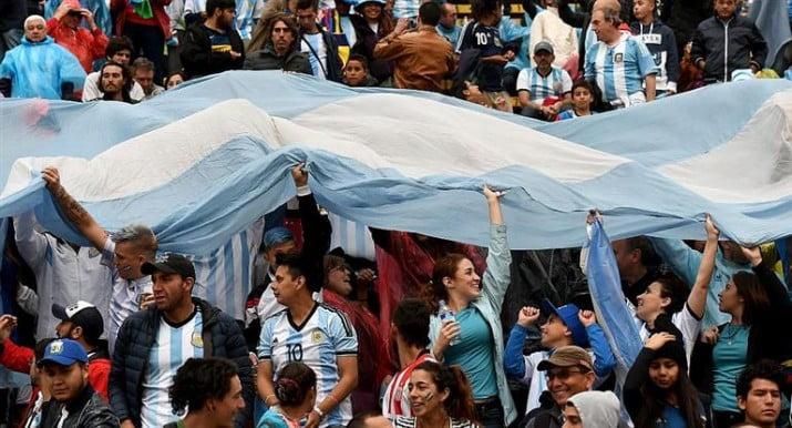 Hinchas argentinos, los que más entradas pidieron para el Mundial