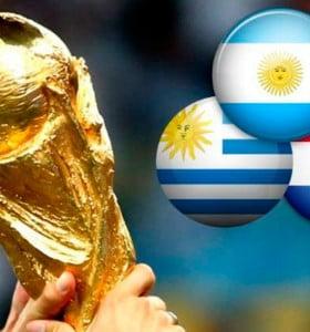 Argentina, Uruguay y Paraguay lanzaron la candidatura conjunta para el Mundial 2030