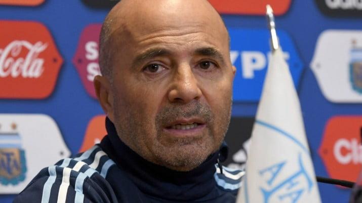 """Sampaoli sobre el partido con Perú: """"No definí el equipo"""""""