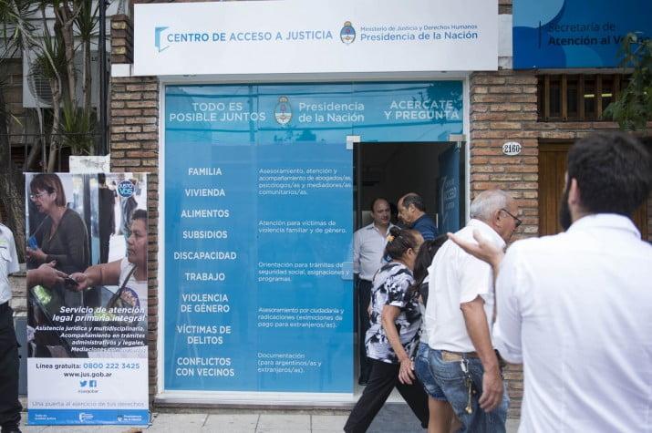 Está operativo el Centro de Acceso a la Justicia