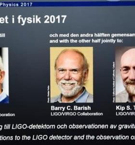 Nobel de Física a cientificos que siguieron a Einstein en ondas gravitacionales