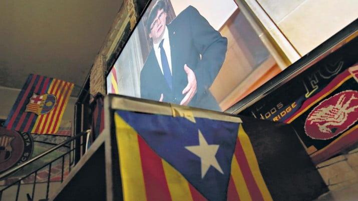 Cataluña podría independizarse el próximo lunes