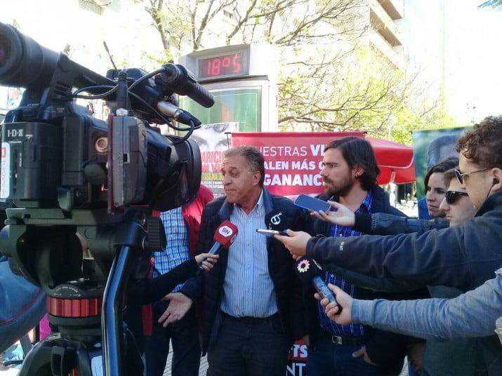 """Pitrola desde Bahía Blanca: """"El sindicalismo de izquierda sale la calle contra la reforma laboral"""""""