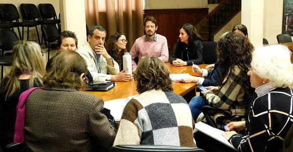 Reunión de la Mesa de Salud Mental en el Concejo Deliberante