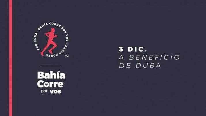 """""""Bahía Corre por Vos: competencia atlética a beneficio de DUBA"""