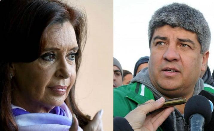 """El guiño de Cristina a Pablo Moyano: """"Nos une la esperanza"""""""