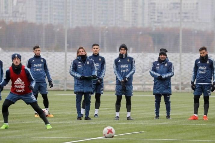 El equipo que paró Sampaoli, de cara al amistoso ante Rusia