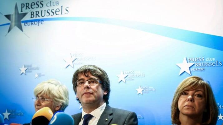 Piden el arresto de Puigdemont