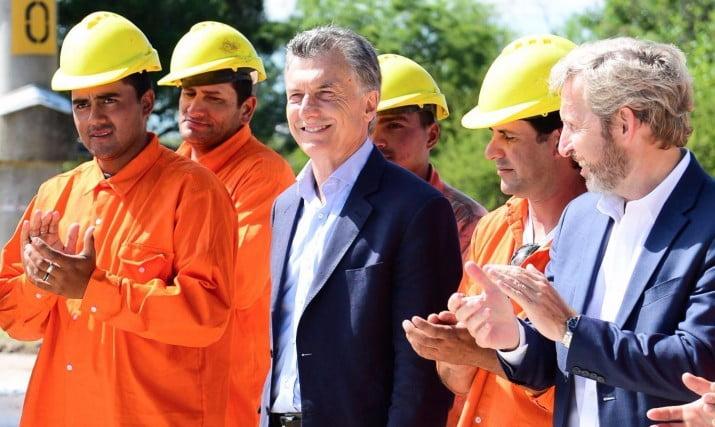 Después de 21 días, Macri habló del submarino