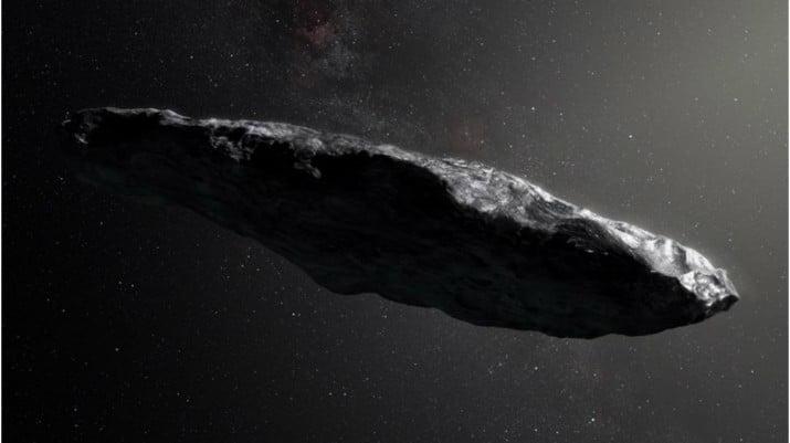 Investigan si el asteroide Oumuamua es una nave extraterrestre