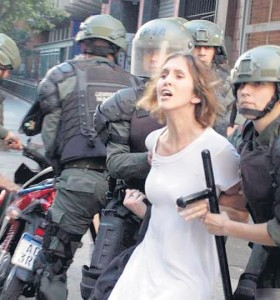 La Justicia liberó a algunos detenidos por la marcha pero otros serán indagados hoy