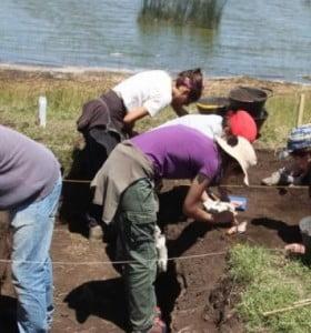 Hallaron restos de pueblos que habitaron Coronel Suárez hace 4 mil años