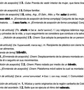 """La versión """"aggiornada"""" del Diccionario de la Lengua Española"""